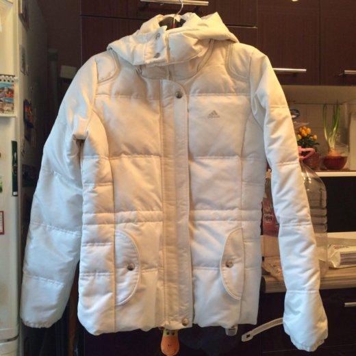 Женская зимняя куртка пуховик adidas. Фото 3. Москва.
