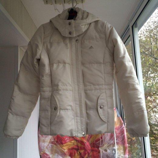 Женская зимняя куртка пуховик adidas. Фото 2. Москва.