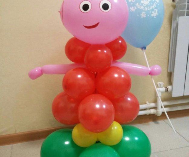 Фигуры из шаров. Фото 1. Ставрополь.