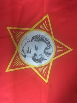 Продам раритетный октябрьский флаг. Фото 1. Самара.