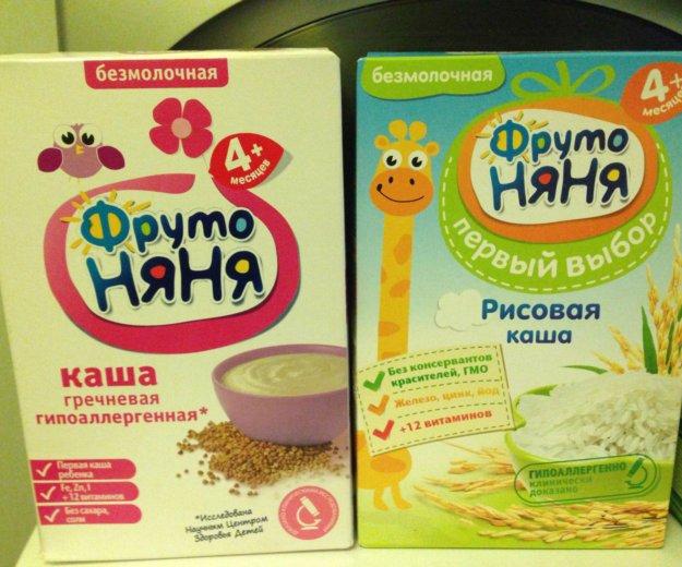 Каши детские. Фото 1. Климовск.