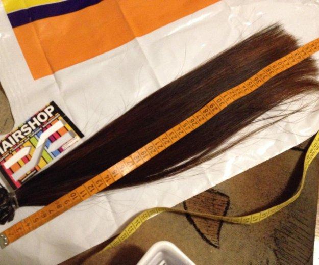 Натуральные волосы 40см. Фото 4. Лесной Городок.