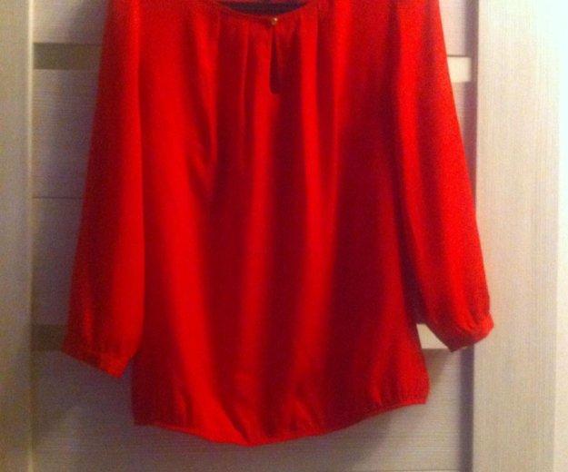 Блуза красная. Фото 1. Тверь.