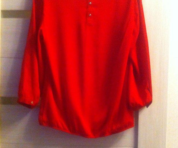 Блуза красная. Фото 2. Тверь.