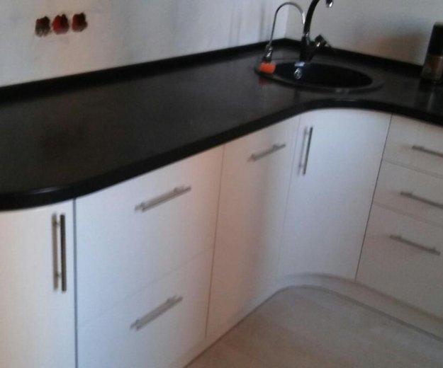 Черно белая кухня. Фото 1. Москва.