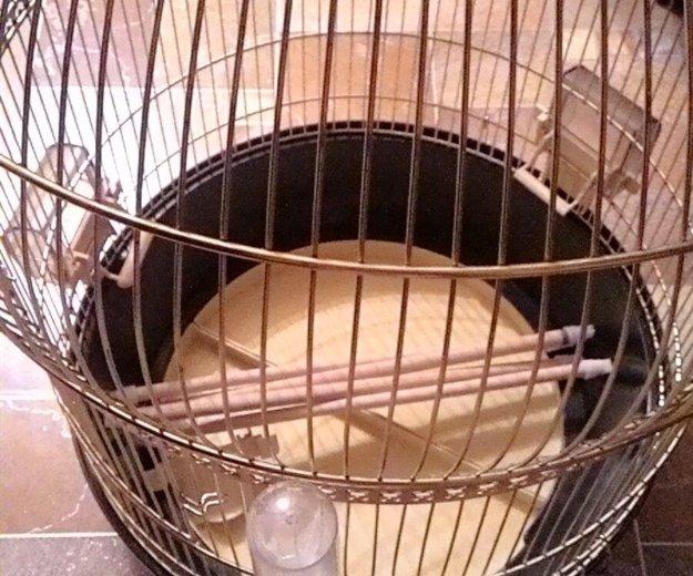 Клетка для попугая ферпласт, б/у. Фото 3. Москва.