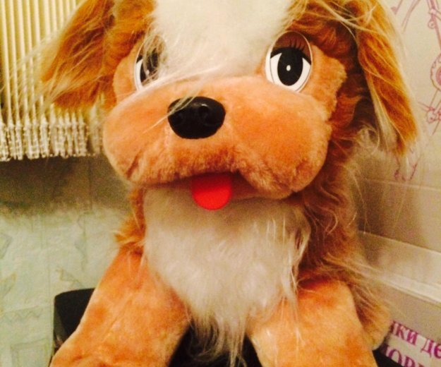 Игрушка собака. Фото 2. Петрозаводск.