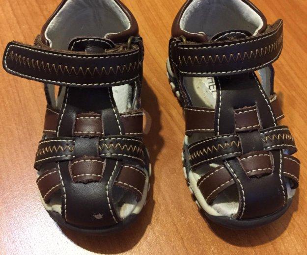 Кожаные сандали. Фото 1. Мытищи.