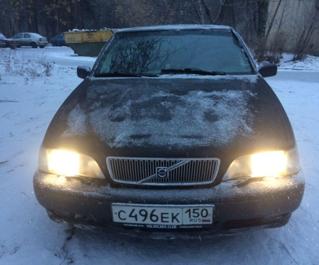 Volvo s70 мкпп 240лс 2.4л турбина. Фото 2. Москва.