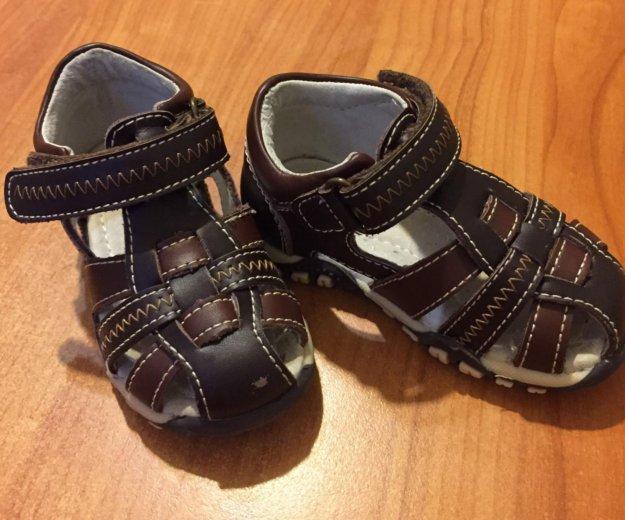 Кожаные сандали. Фото 2. Мытищи.
