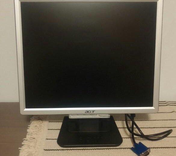 Монитор для компьютера acer. Фото 2. Удельная.