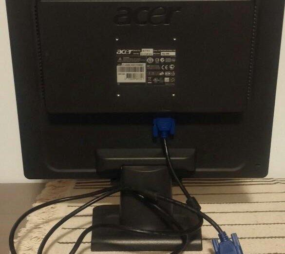 Монитор для компьютера acer. Фото 3. Удельная.