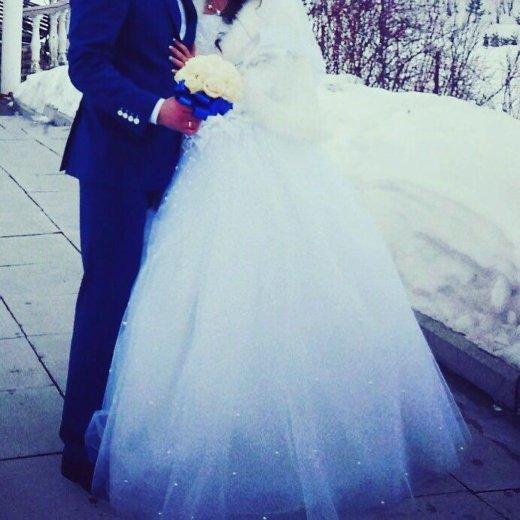 Шикарное свадебное платье. Фото 2. Екатеринбург.