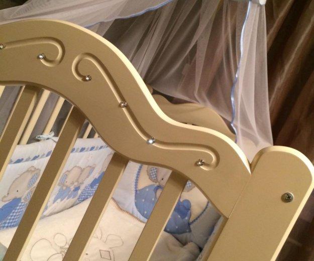 Кроватка детская новая!!. Фото 2. Белореченск.