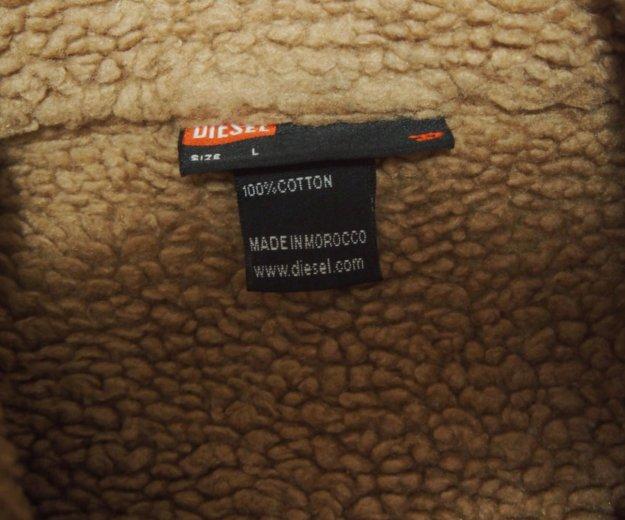 Джинсовая куртка diesel на меху. Фото 4. Москва.