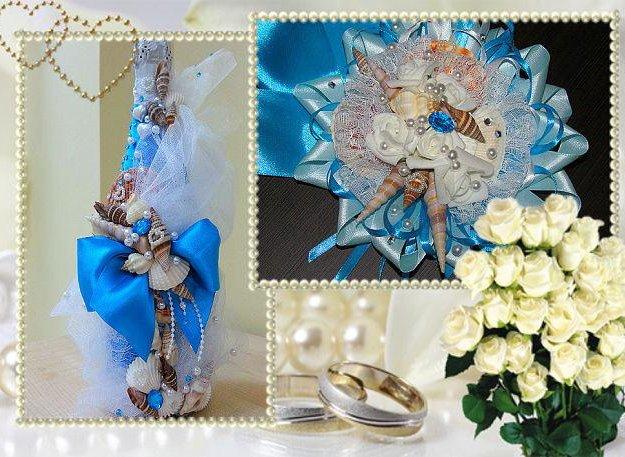 Изготовление свадебных аксессуаров. Фото 2. Саратов.