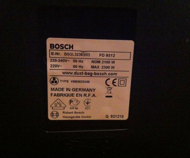 Bosch bsgl 32383 новый германия. Фото 4. Челябинск.