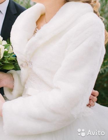 Шубка свадебная. Фото 2. Москва.