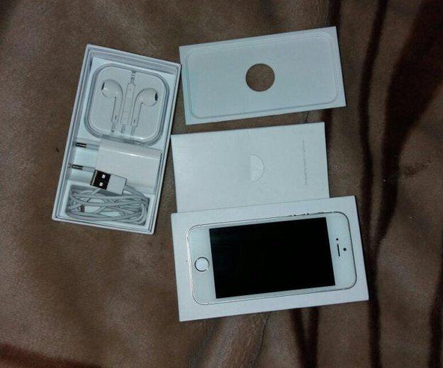 Iphone 5 s gold 16 gb. Фото 3. Махачкала.