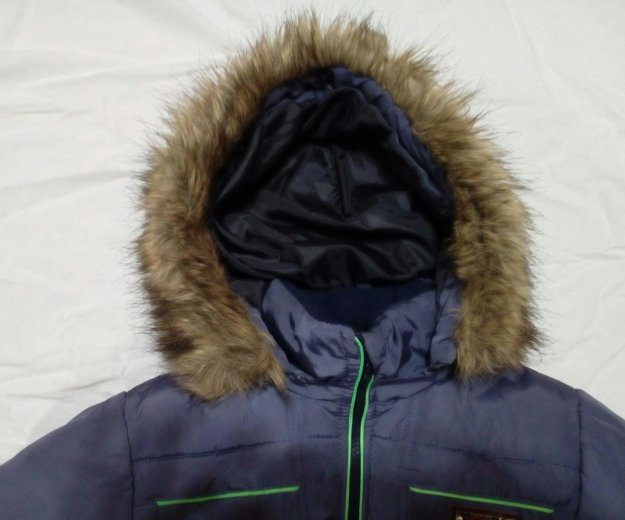 Куртка зимняя на мальчика 8-11 лет. Фото 2. Кинешма.