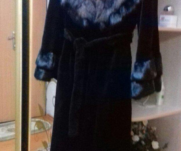 Норковая шуба с соболем. Фото 2. Махачкала.