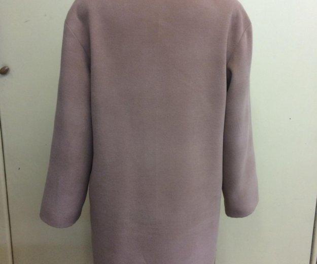 Женское демисезонное пальто ‼️ручная работа ‼️. Фото 4. Омск.