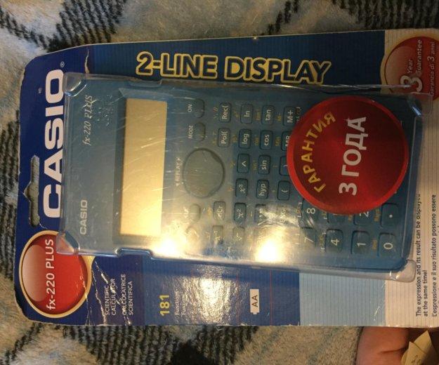 Калькулятор casio fix-220 plus. Фото 2. Реутов.