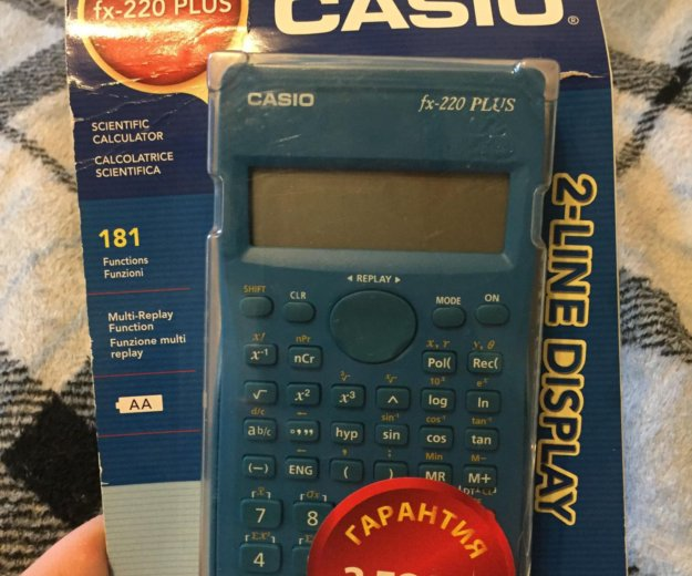Калькулятор casio fix-220 plus. Фото 1. Реутов.