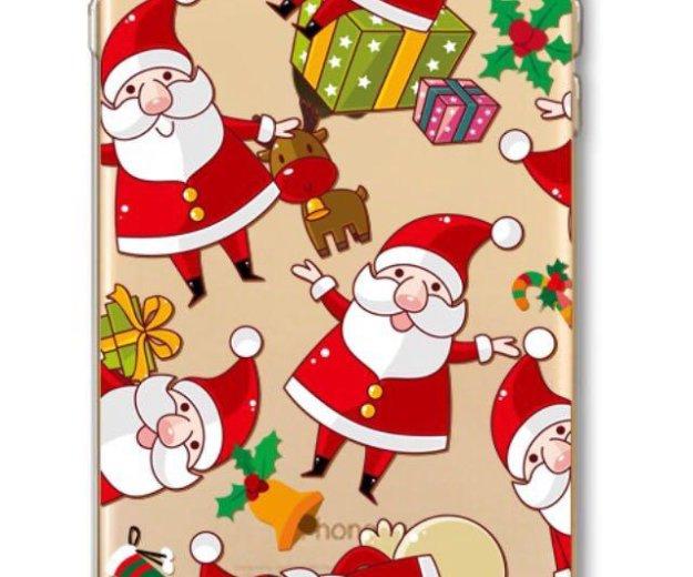 Новогодние чехлы для iphone 5, 5s, se и 6, 6s. Фото 2. Москва.