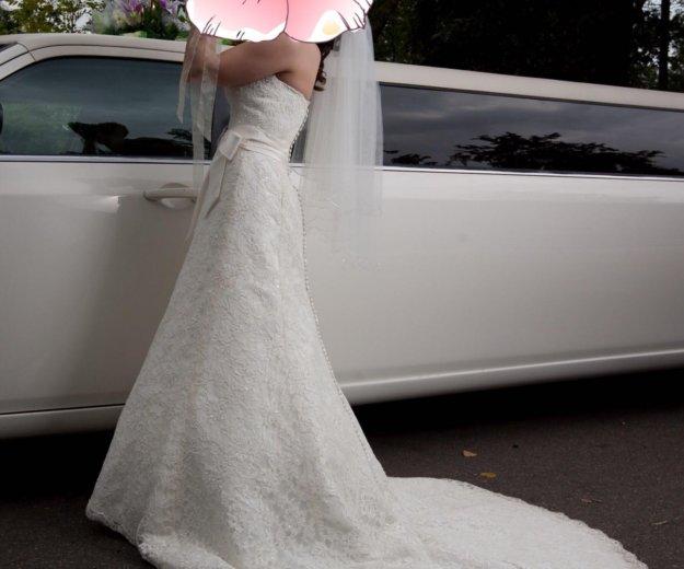 Свадебное платье. Фото 4. Москва.