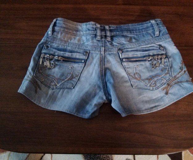 Шорты джинсовые. Фото 1. Тюмень.