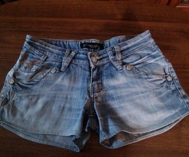 Шорты джинсовые. Фото 2. Тюмень.