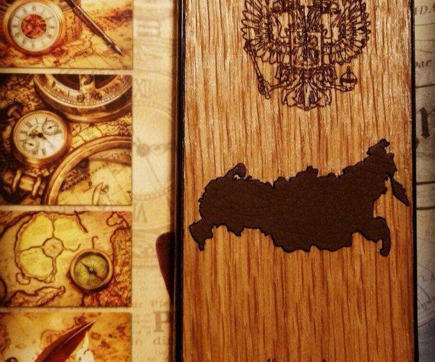 Чехол из дерева лазерная гравировка. Фото 2. Москва.