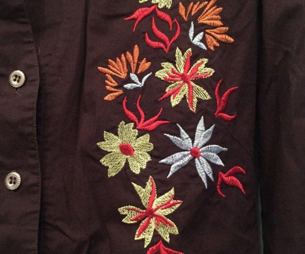 Рубашка женская р.46 блузка. Фото 2. Москва.