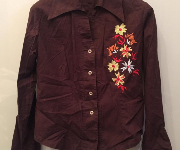 Рубашка женская р.46 блузка. Фото 4. Москва.