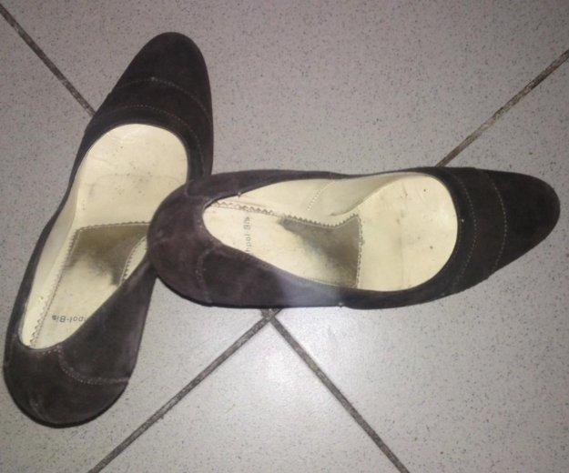 Туфли из натуральной замши. Фото 3.