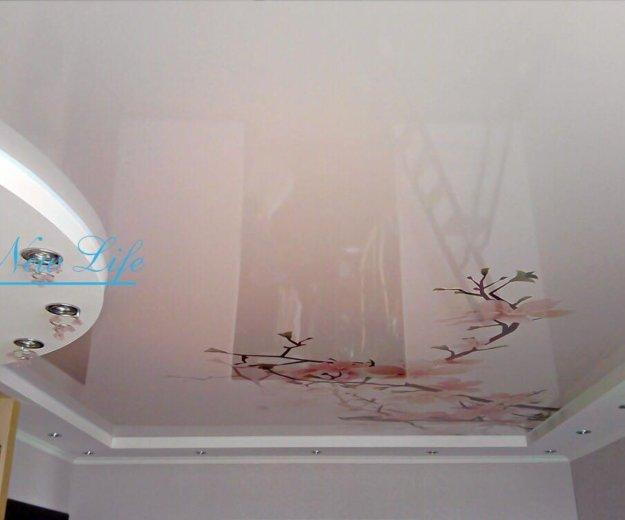 Натяжные потолки. Фото 2. Никольское.