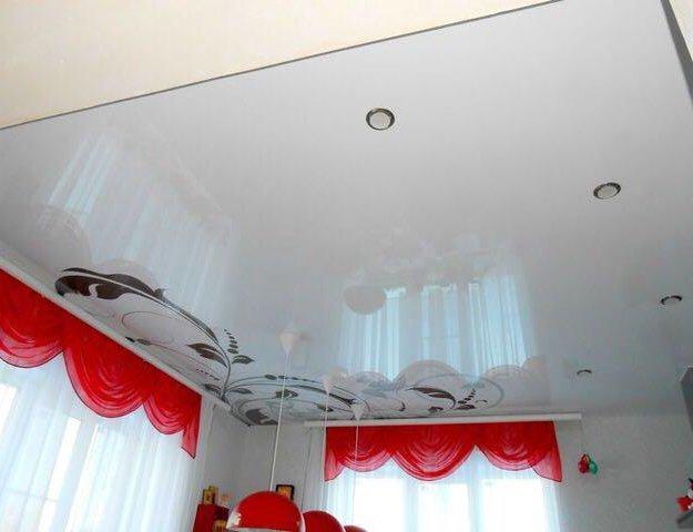 Натяжные потолки. Фото 3. Никольское.