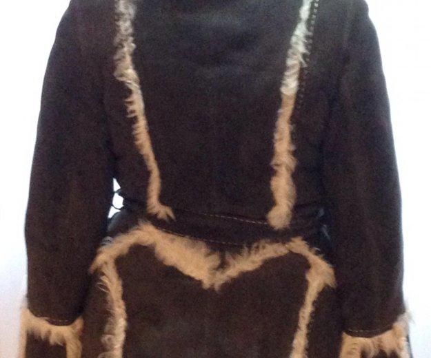 Дублёнка из натурального меха тосканского ягнёнка. Фото 1. Москва.
