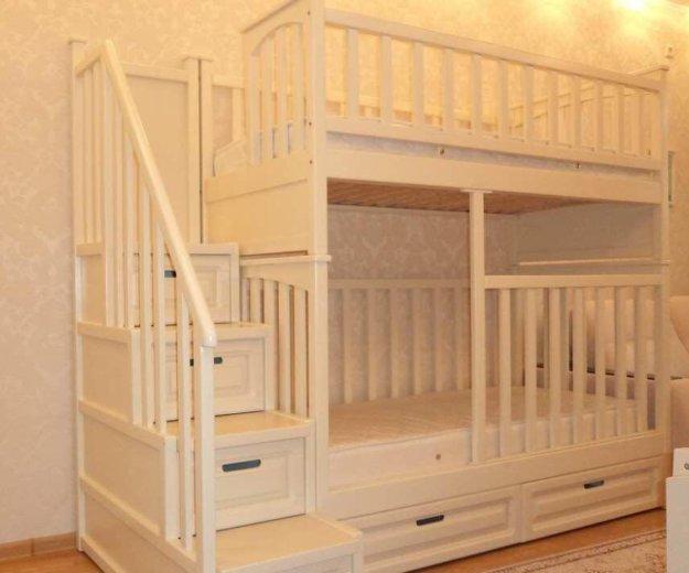 Сборка двухъярусной кровати. Фото 1. Москва.