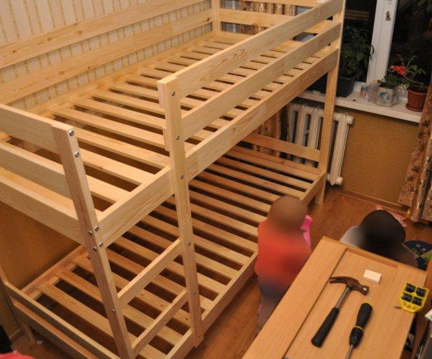 Сборка двухъярусной кровати. Фото 3. Москва.