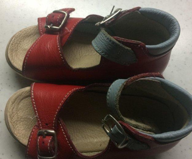 Кожаные сандали. Фото 2. Саратов.