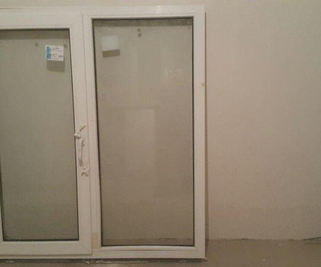 Пластиковые окно и дверь. Фото 1. Краснодар.