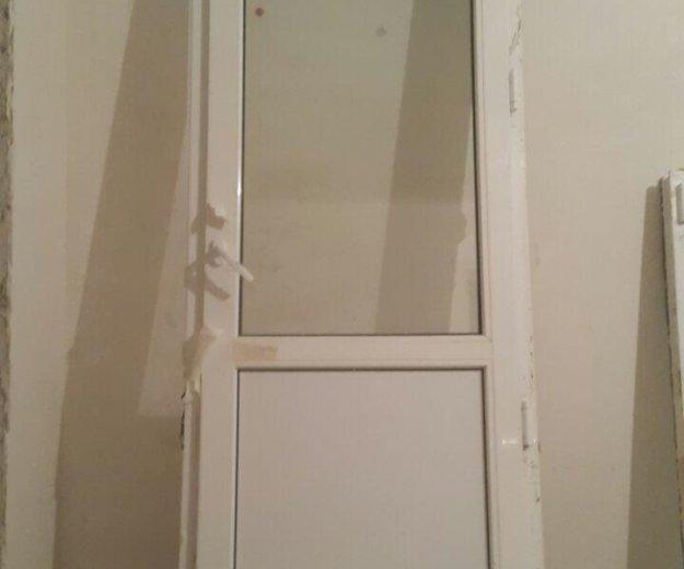 Пластиковые окно и дверь. Фото 2. Краснодар.
