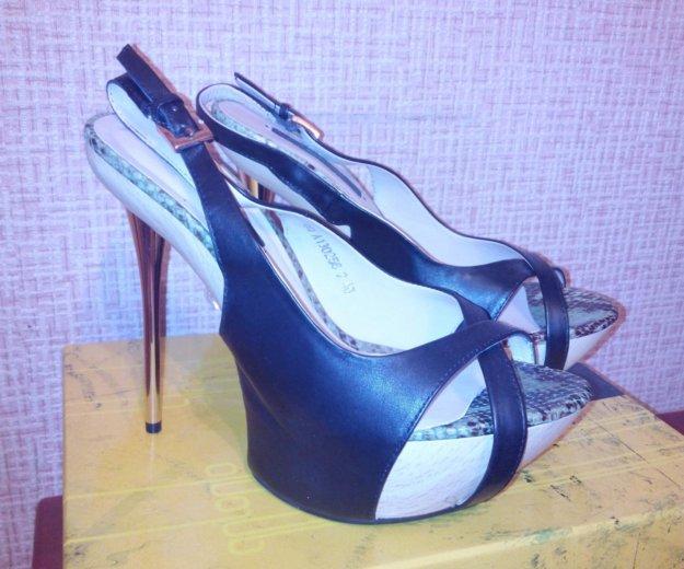 Новые кожанные туфли paolo conte. Фото 1. Ставрополь.