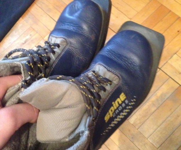 Лыжные ботинки. Фото 2. Чехов.