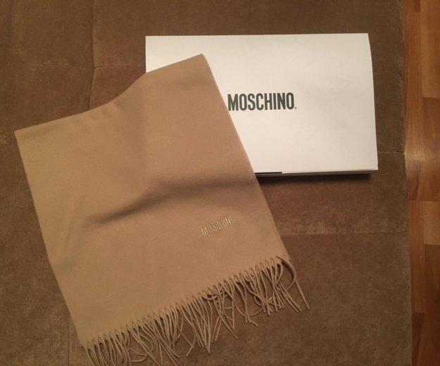 Зимний шарф moschino  новый. Фото 1. Москва.