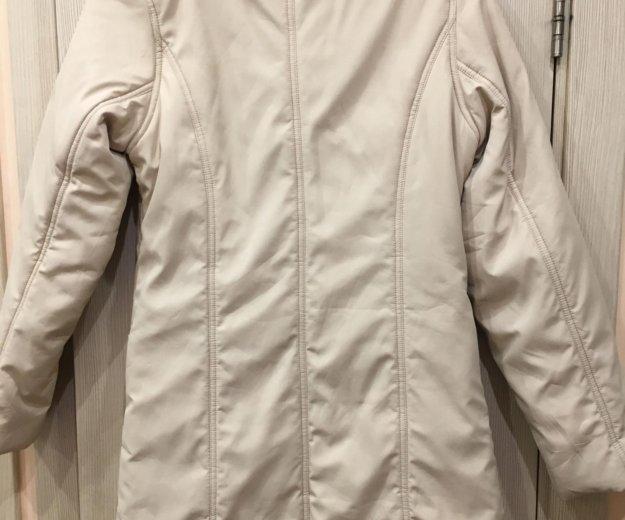Куртка женская 42-44р молочного цвета. Фото 2. Москва.