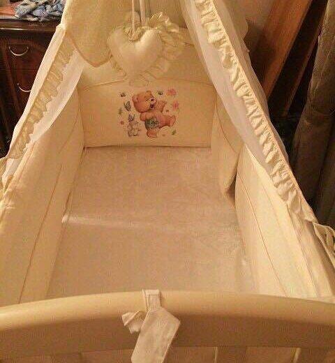 Детская кроватка с балдахином. Фото 1. Москва.