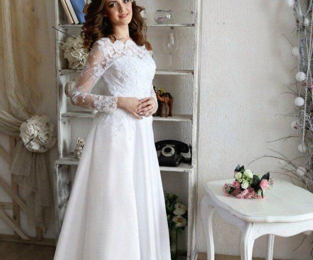 Свадебное платье в наличии. Фото 3. Красноярск.